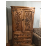 Carved Wardrobe