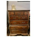 Ornate High Boy Dresser