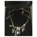 Nicky Butler - Sterling Multi Gemstone Necklace