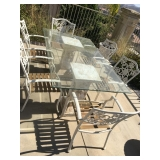 Patio table w/6 Chairs