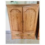Oak Armoire / Wardrobe