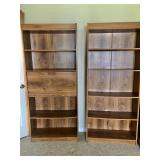 (2) Bookcases