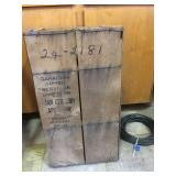 Vintage Military Box