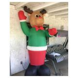 Rudolph Xmas Inflatable