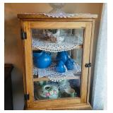 Antique Bakery Display Cabinet