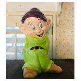 Disney Snow White Dwarfs Dopey Cookie Jar