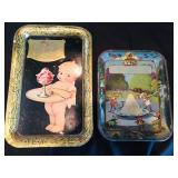 Antique Ice Cream Trays