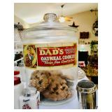 Vintage Cookie Jar - Dad
