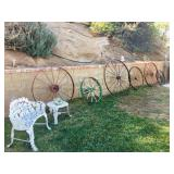 Antique Wagon Wheels Overview