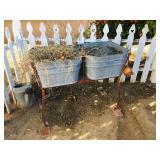 Metal Buckets / Planters
