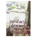 Springwater Cookie Company Cookie Jar