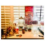 Vintage Candy Jars / Apothecary Jars - Overview