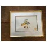 Disney Goofy Serigraph Cell w/ Certification - How to Play Golf