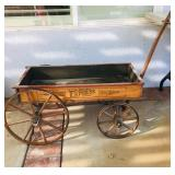Antique Wood Wagon