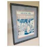 Heigh Ho - Snow White Frame - The Dwarfs Marching Song