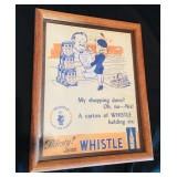 Vintage Whistle Soda Advertisement