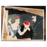 Snow White Print - Autographed by Ron Disney