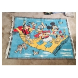 Vintage Disney Mickey Mouse Rug