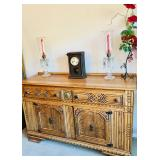 Vintage Carved Buffet Cabinet