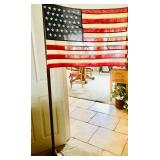 Antique 1896 Spanish American War - 45 Stars - American Flag