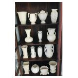 Miscellaneous pottery including McCoy, Roseville, Redwing