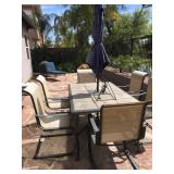 Patio Table w/ 6 chairs