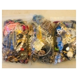 Assorted bagged jewelry