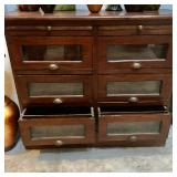 Antique General Store  candy display drawers