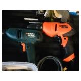 Black & Decker power drills