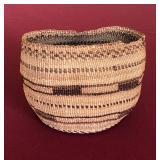 "Klamath Native American basket 4.25x6"""