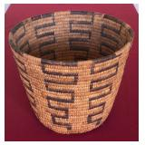 "Papago Native American basket 8.5x11"""
