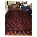 Persian Bohkara carpet c.1960 15x12ft