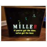Vintage Miller Bear Sign