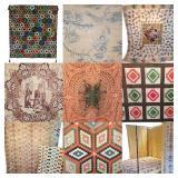 The September Antique & Vintage Quilt & Textile Auction