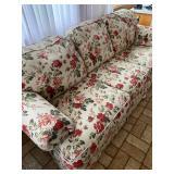 "La-Z-Boy Floral 3-Seater Sofa - $160 - 97"" Wide x 40"" Deep x 37"" High"