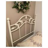 2x Metal Twin Beds - $120 each - Frame & Mattress
