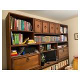 "Large Bookcase - $100 - 90"" Long x 18"" Deep x 84"" High"
