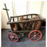 Antique Goat Cart