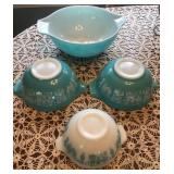 Pyrex Amish Butter Print variety of Sizes