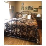 King Size Wrought Iron Bed