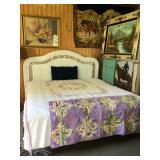 Wicker King Size Bed
