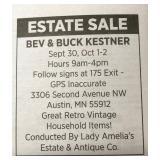 Location of Estate Sale please follow signs !🤓