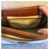DOONEY & BURKE Pebble Leather Purse-Shoulder Strap-Inside Pockets-8Lx11Wx4D  $30