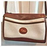 DOONEY & BURKE Pebble Leather Purse-Front Pocket-Shoulder Strap-Inside Pockets-8Lx11Wx4D  $30