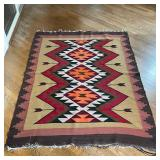 MEXICAN FLAT WOVEN RUG