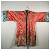 FINELY EMBROIDERED CHINESE ROBE