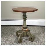 CONTEMPORARY OCTAGONAL SIDE TABLE