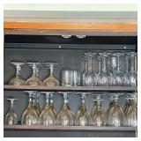 ESTATE LOT WINE & OTHER GLASSES