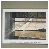 ANDREW WYETH HIGH MUSEUM OF ART POSTER