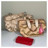 (3pc) COACH BAGS